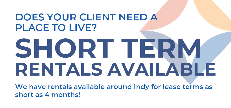 Need a short term rental? We've got you covered.